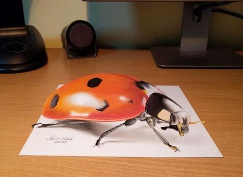 飛び出して見える3Dアートの画像(22枚目)