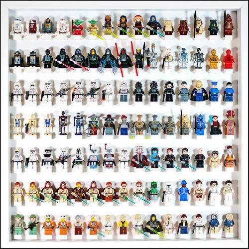 趣味で集めたコレクションの見せ方と収納方法が凄い!!の画像(8枚目)
