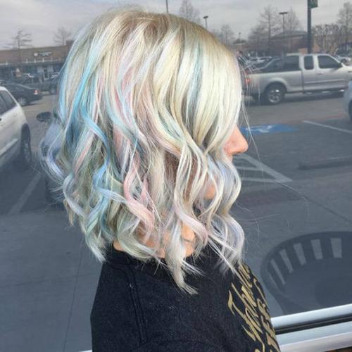 虹のような髪の毛の女の子の画像(28枚目)