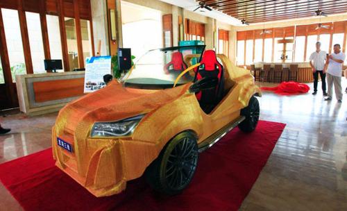 中国の3Dプリンタで作られた自動車がなんだかヤバイ!の画像(2枚目)
