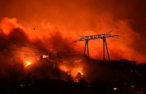 フランスのマルセイユの山火事の画像(13枚目)