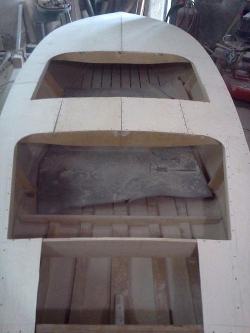 木製のボートの画像(11枚目)