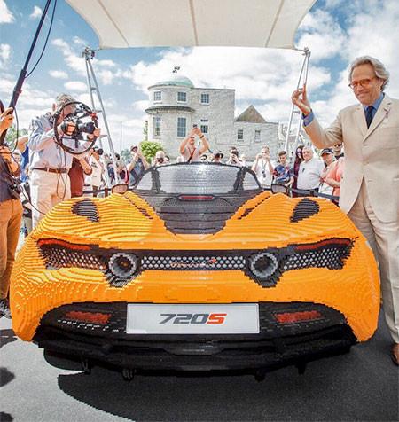 レゴでできたスポーツカー07