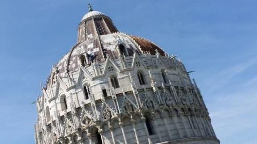 ピサの斜塔の記念撮影の画像(18枚目)