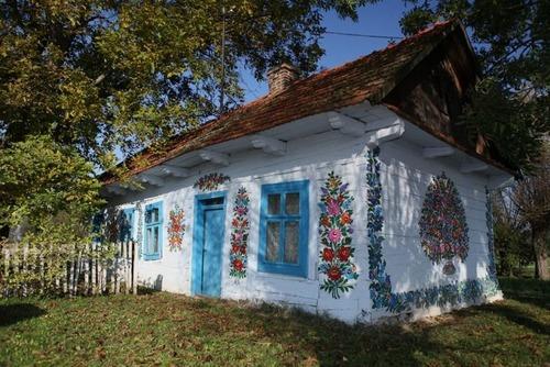 お花がプリントしてある可愛い家の画像(7枚目)