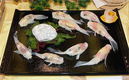 美し過ぎるコイの寿司05