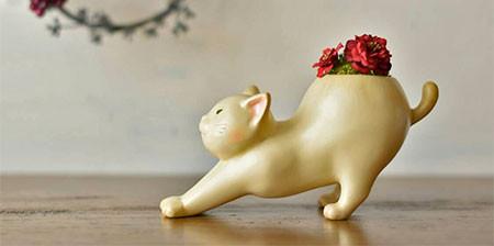 植木鉢で癒される!かわいい動物のプランターの画像の数々!!の画像(1枚目)
