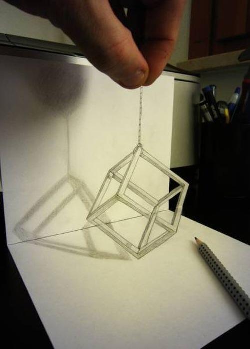 紙で作った3Dアートの画像(21枚目)
