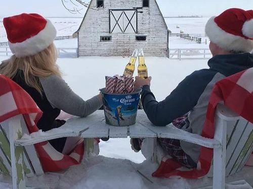 冬を楽しむカナダの人達の画像(30枚目)