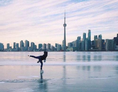 冬を楽しむカナダの人達の画像(31枚目)