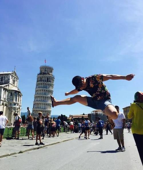 ピサの斜塔の記念撮影の画像(26枚目)