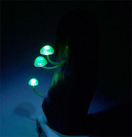 本物のような光るキノコのようなライトが可愛い!!の画像(5枚目)