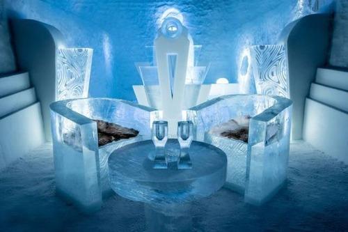 氷でできた極寒のホテルの画像(9枚目)