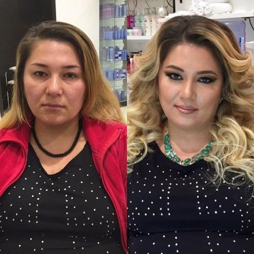 女性の化粧前、化粧後の画像の数々_20