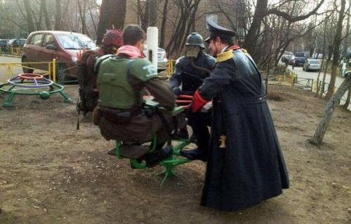 ちょっと面白いロシアの日常の画像(11枚目)