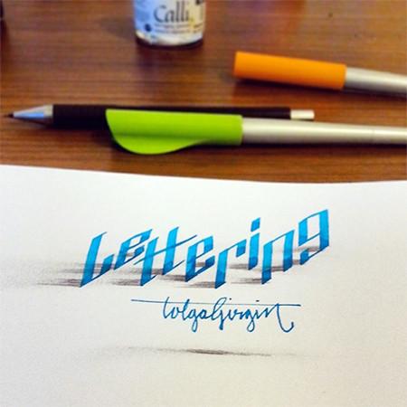 ノートにペンだけで描いた3Dの文字が凄い!!の画像(17枚目)