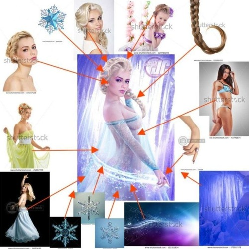 セクシーな女性のポスターの作成方法がよく分かる画像!の画像(4枚目)