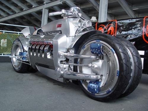 世界に10台5500万円のバイク!ダッジ・トマホークがやっぱり凄い!!の画像(5枚目)