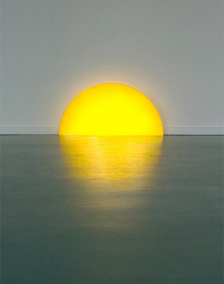 夕日に見える、サンセットランプ02