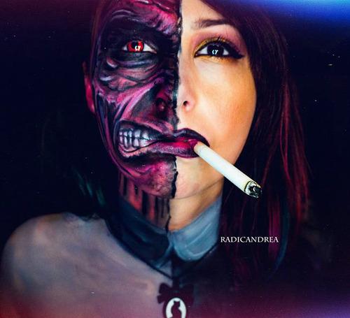 女性のメイクが怖すぎる!化粧のみで怖すぎる女性のメイクの画像の数々!!の画像(9枚目)