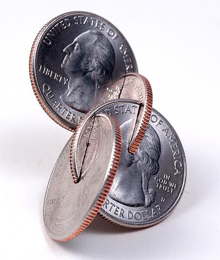 【画像】もったいないけど凄い!コインを使った面白アート!の画像(15枚目)