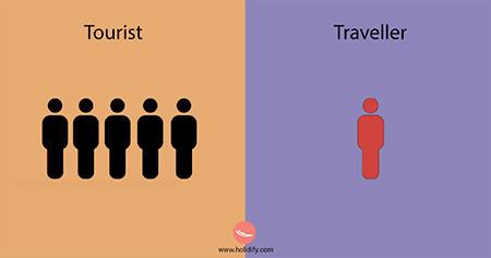 「観光客」vs「旅行者」の比較画像が分りやすい!!の画像(6枚目)