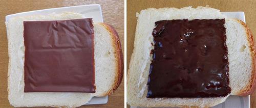 お料理革命!スライスチーズのようなスライスチョコを使った料理が美味しそう!!の画像(9枚目)