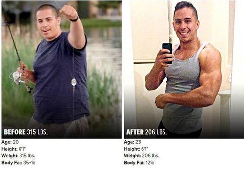 やればデキル!ダイエット肉体改造のビフォーアフターの画像の数々!!の画像(12枚目)
