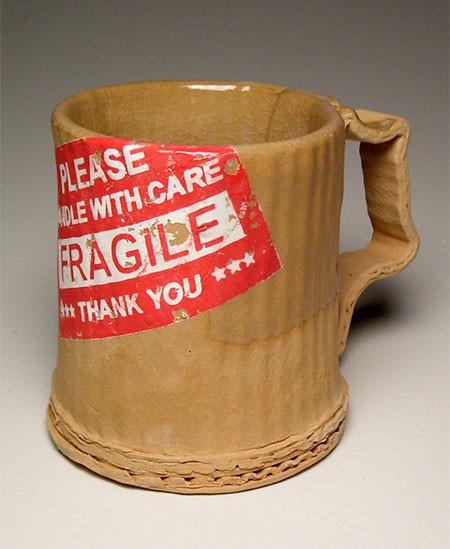 ダンボール製のようなマグカップの画像(4枚目)