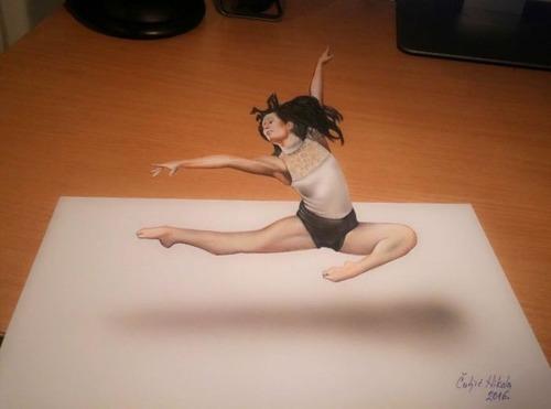 飛び出して見える3Dアートの画像(16枚目)