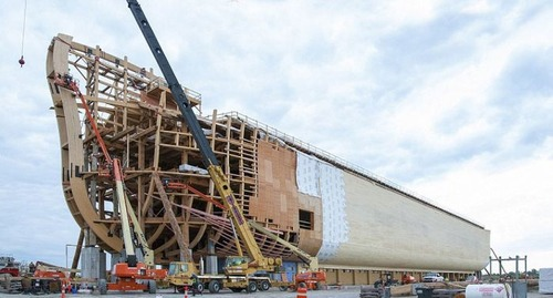 実物大の『ノアの箱舟』の画像(3枚目)