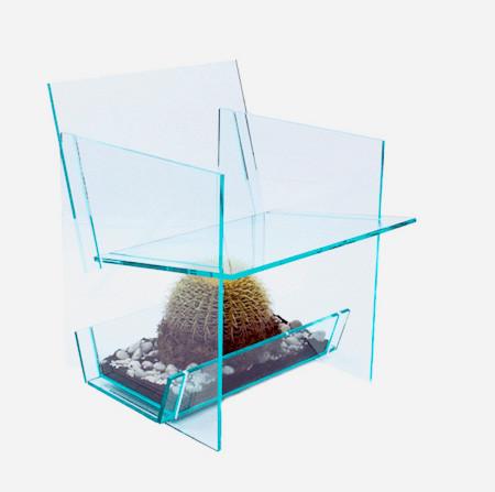 サボテンが栽培できる椅子05
