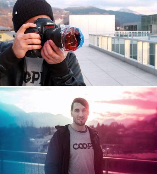 変わった撮り方をしている写真の画像(13枚目)