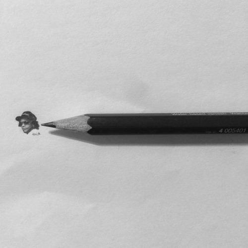 鉛筆やシャーペンで描いた小さいけど凄いクオリティの画像の数々!!の画像(18枚目)