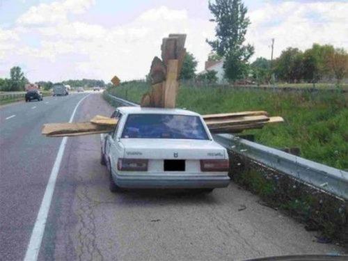 運搬している自動車の画像(26枚目)