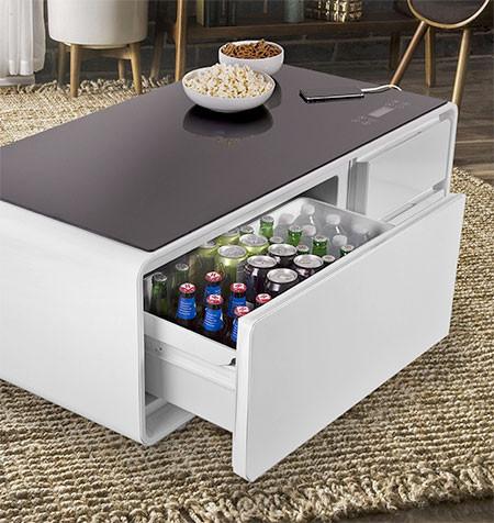 冷蔵庫つきのテーブルの画像(4枚目)