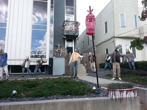 【画像】ちょっと次元の違う怖すぎるハロウィンの装飾の数々!!の画像(10枚目)