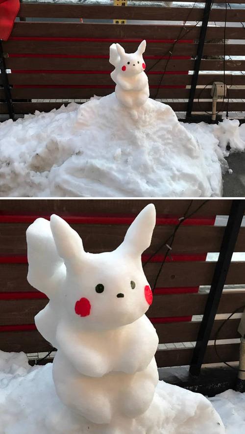 ハイクオリティな雪像の画像(6枚目)