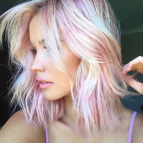 虹のような髪の毛の女の子の画像(16枚目)