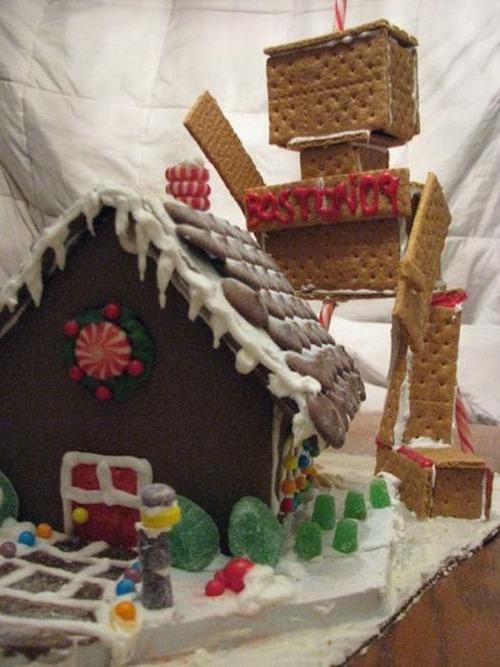【画像】お菓子でできた家やジオラマが凄い!!の画像(10枚目)