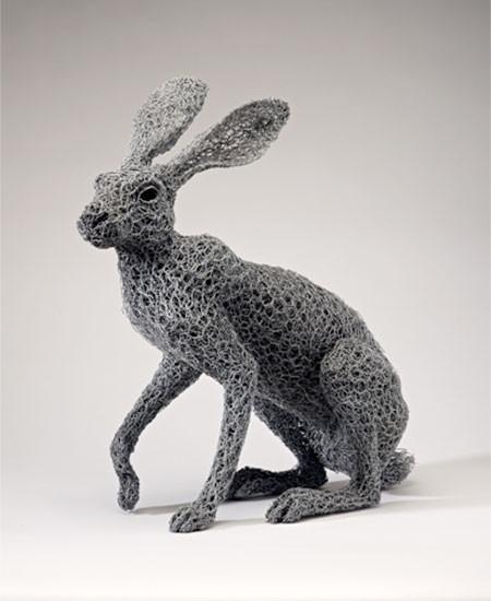 金網で作られた動物の画像(8枚目)