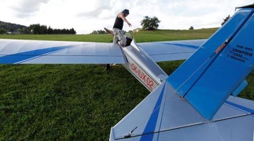 自作の飛行機で会社に通勤の画像(2枚目)
