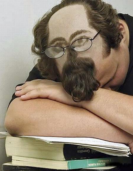 居眠りヘアーの画像(4枚目)
