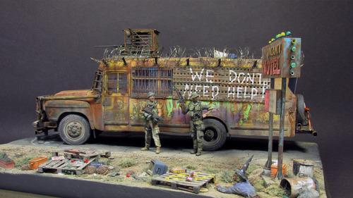 【画像】単なるバスのプラモでも超本気で作ると凄いことになるwwwの画像(46枚目)