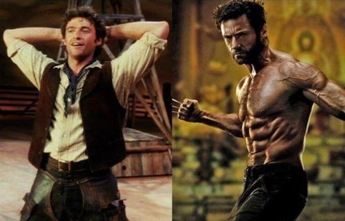 ハリウッドスターの肉体改造の前後の比較写真!!の画像(1枚目)