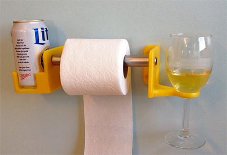トイレでお酒が飲めるドリンクホルダーの画像(1枚目)