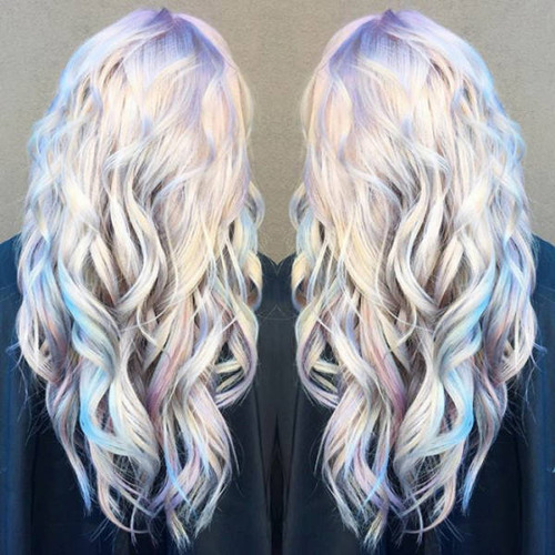 虹のような髪の毛の女の子の画像(33枚目)