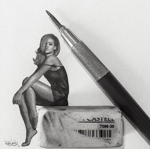 鉛筆やシャーペンで描いた小さいけど凄いクオリティの画像の数々!!の画像(4枚目)