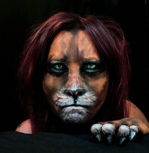 女性のメイクが怖すぎる!化粧のみで怖すぎる女性のメイクの画像の数々!!の画像(29枚目)