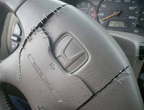 【画像】修理方法が驚異的に雑すぎて、凄いことになってる自動車の数々!!の画像(26枚目)